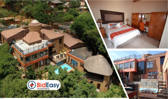 ON AUCTION: 4 STAR GUESTHOUSE IN FLORAUNA, PRETORIA