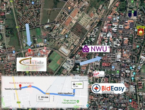 AUCTION: 66 FULLY LET STUDENT ACCOMMODATION UNITS - POTCHEFSTROOM