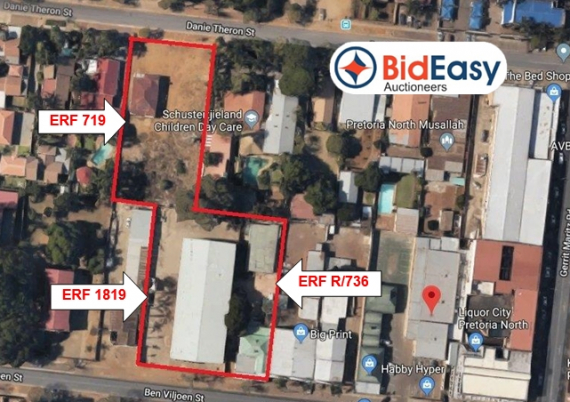COMMERCIAL & RESIDENTIAL ADJOINING PROPERTIES - PRETORIA NORTH